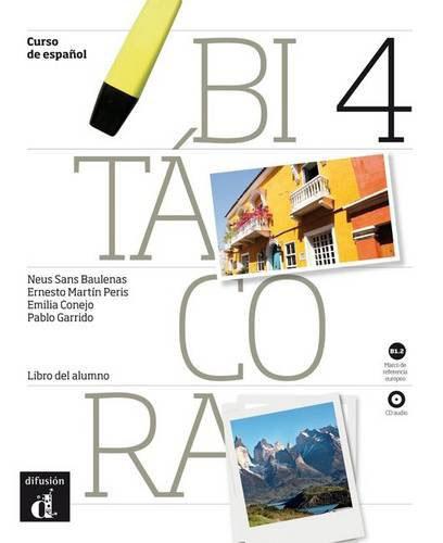 Bitacora 4 - Libro del alumno + CD диего эль сигала адриана варела мерседес соса diego el cigala romance de la luna tucumana