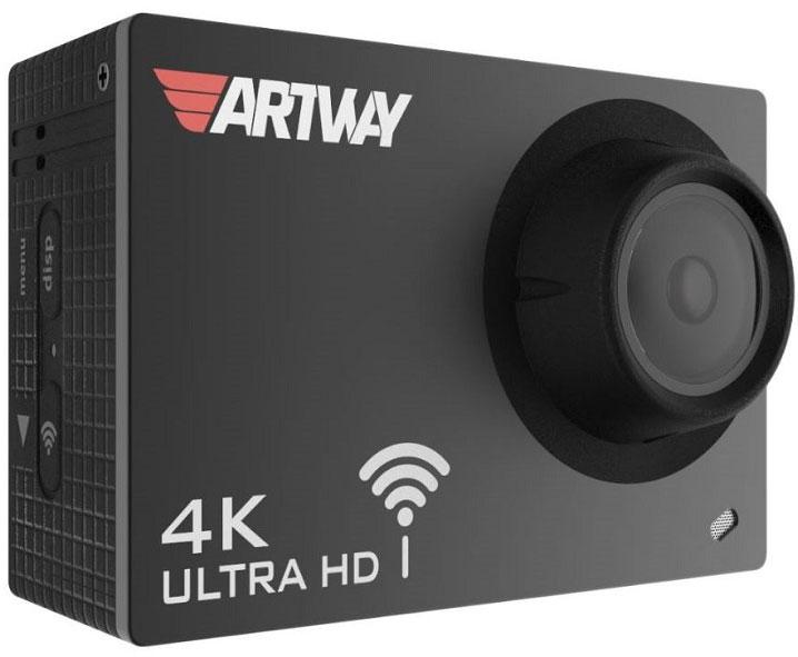 Artway AC-905, Black видеорегистраторAC-905Экшн-камеру Artway AC-905 можно использовать в качестве автомобильного регистратора. Для этого в устройстве предусмотрены все необходимые функции. Режим циклической записи, который позволяет экономить место на карте памяти. Встроенный G-сенсор защитит от удаления или перезаписи, видеофайлы во время аварийных ситуаций. Функция НDR позволяет снимать ролики в высокого качества в условиях плохой освещенности или в ночное время при ярком свете фонарей и фар встречных автомобилей.В комплекте экшн-камеры входит специальное крепление с присоской на стекло автомобиля, а компактный размер камеры делает ее незаметной для окружающих. При использовании Artway AC 905 в качестве видеорегистратора, вы сможете рассмотреть на видео не только номерные знаки, но и мельчайшие действия и обстоятельства происшествия.Видео такого высокого качество позволит вам доказать свою невиновность в случае судебных разбирательств. Благодаря встроенному Wi-Fi владелец устройства может сохранить на смартфон необходимые видеофайлы прямо на месте ДТП. Передав карту памяти сотруднику ДПС, можно не опасаться, что она будет утеряна вместе с записью дорожного события.Высочайшее качество съемки 4KUltra HD обеспечивается благодаря мощному графическому процессору Allwinner V3 и матрице Sony с разрешением 16 мегапикселей. 4K это формат ультравысокой четкости, он в четыре раза лучше популярного Full HD, позволяет добиться максимально качественной картинки и в дневное и ночное время.Бесплатное приложение для управления видеорегистратором через смартфон на базе iOS и Android находятся в свободном доступе в AppStore и GogglePlay. Вы всегда можете установить их на свой смартфон для управления устройством, просмотра сохраненных видео или сохранения файлов на мобильном устройстве.Функция стабилизации изображения и компенсирования вибрации позволяет компенсировать тряску и вибрации при съемке во время движения и стабилизирует изображение во время съемки с рук. Также, полностью 