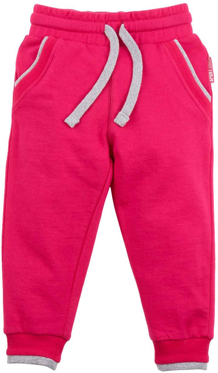 Брюки спортивные для девочки Free Age, цвет: фуксия. ZG 10245-PM-2. Размер 146, 10 лет брюки спортивные для девочки free age