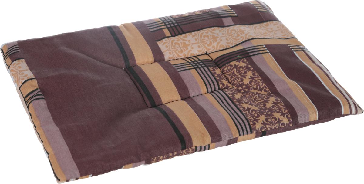 Лежак для животных Elite Valley Матрасик, цвет: коричневый, 25 х 40 см. Л16/1Л16/1Лежак для животных Elite Valley Матрасик изготовлен из высококачественной бязи и оформлен оригинальным принтом. Наполнение выполнено из синтепона, обеспечивающего тепло и мягкость.Идеален для переносок и использования в автомобиле. Он станет излюбленным местом вашего питомца, подарит ему спокойный и комфортный сон. Высота матраса: 2 см.