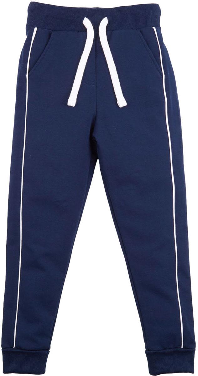 Брюки спортивные для девочки Free Age, цвет: темно-синий. ZG 10255-B-2. Размер 146, 10 лет брюки спортивные для девочки free age