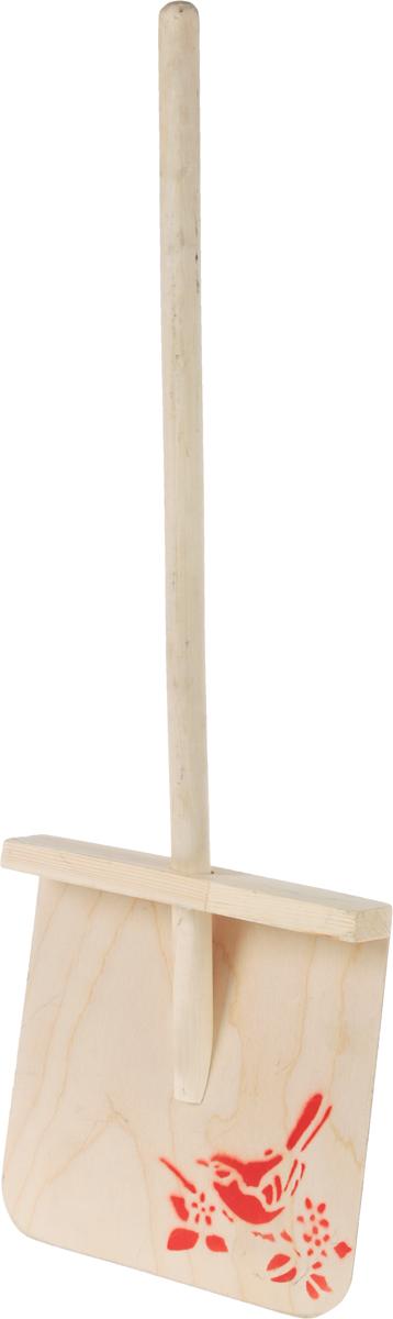 Лопата для уборки снега Калита Мини, длина 79 см68091Лопата Калита Мини предназначена для уборки территории от снега. Она состоит из фанерной рабочей части, надежно зафиксированной на деревянном черенке. Лопатой удобно сгребать снег благодаря изогнутой форме ковша. Черенок из твердых пород дерева обеспечивает надежный захват в руках при работе.Длина черенка: 53,5 см.Размеры лопаты: 25,5 х 25 см.Общая длина лопаты: 79 см.
