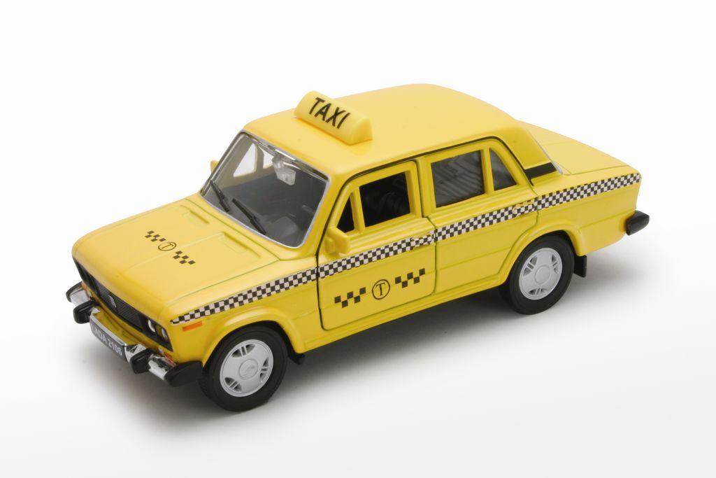Welly Модель автомобиля LADA 2106 Такси авто ваз 2106 д шево и балаково