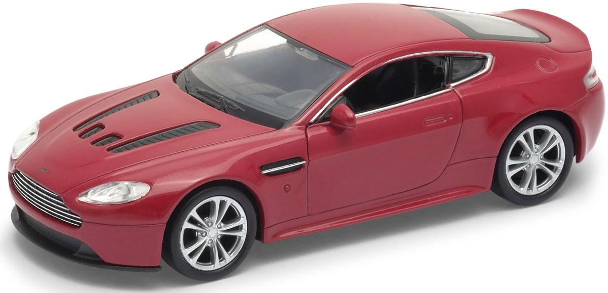 Welly Модель автомобиля Aston Martin V12 Vantage цвет красный welly модель машины 1 24 aston martin v12 vantage welly