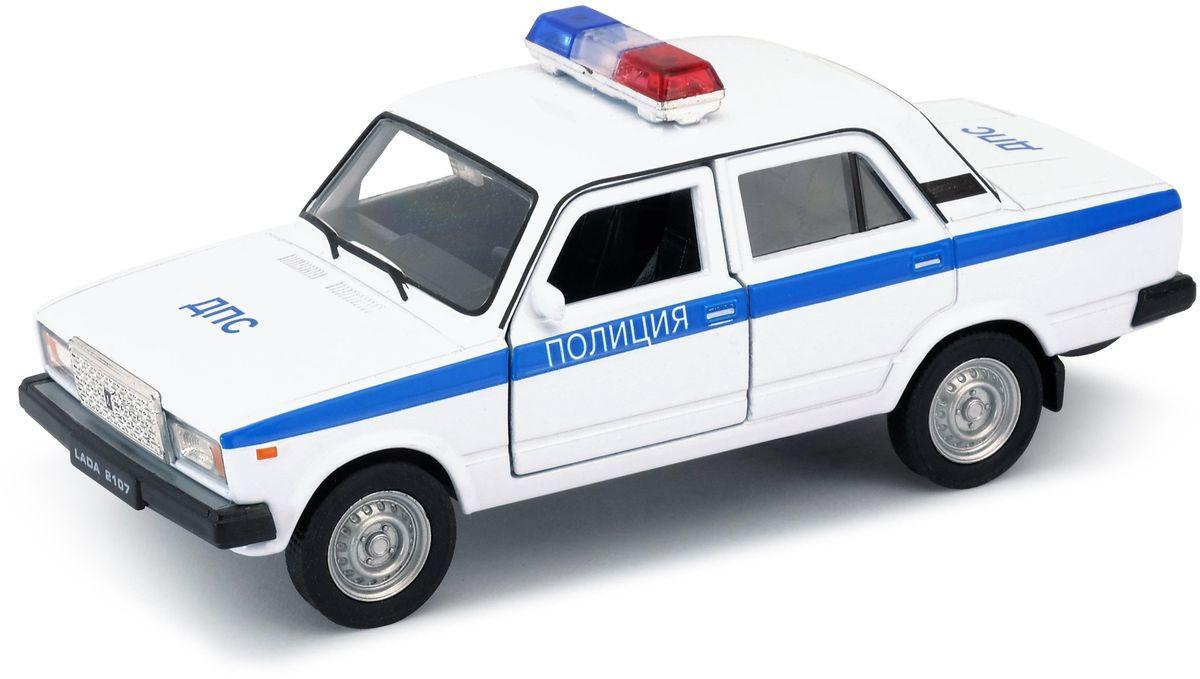 Welly Модель автомобиля LADA 2107 Полиция шахмагонов николай фёдорович любовные драмы русских писателей
