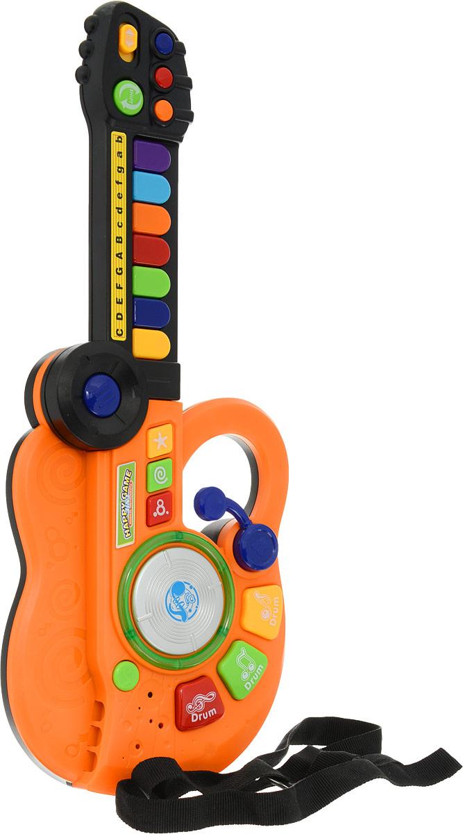 Joy Toy Гитара Я музыкант 3 в 1 цвет оранжевый mountain bike four perlin disc hubs 32 holes high quality lightweight flexible rotation bicycle hubs bzh002