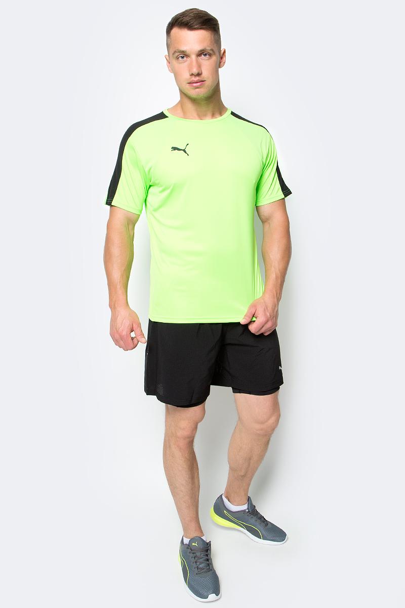 Футболка мужская Puma IT evoTRG Training Tee, цвет: салатовый. 655175_51. Размер L (48/50) брюки puma брюки it evotrg pant