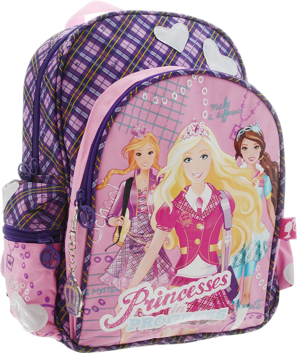 Barbie Рюкзак детский Princess In Progress цвет розовый фиолетовый