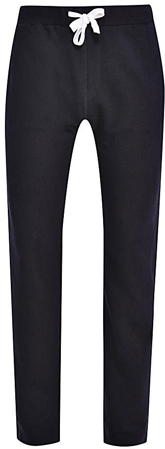 Брюки спортивные мужские Sela, цвет: темно-синий. Pk-215/055-7340. Размер XXL (54)Pk-215/055-7340Удобные спортивные брюки для мужчин Sela выполнены из качественного хлопкового материала и дополнены двумя прорезными карманами. Брюки прямого кроя и стандартной посадки на талии имеют широкий пояс на мягкой резинке, дополнительно регулируемый шнурком. Мягкая ткань на основе хлопка и полиэстера приятна на ощупь и комфортна в носке.