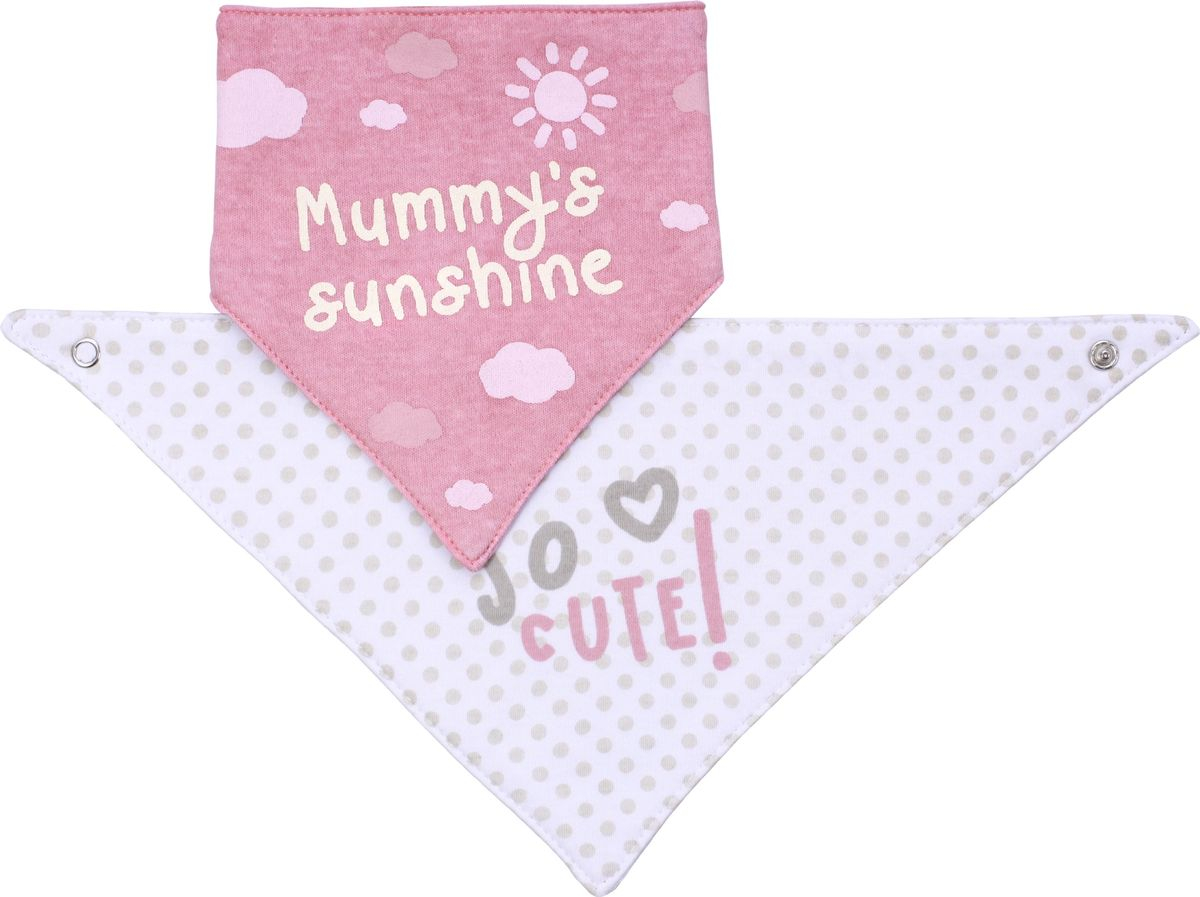 BabyOno Нагрудник-шейный платок 2 в 1 Co Cute!