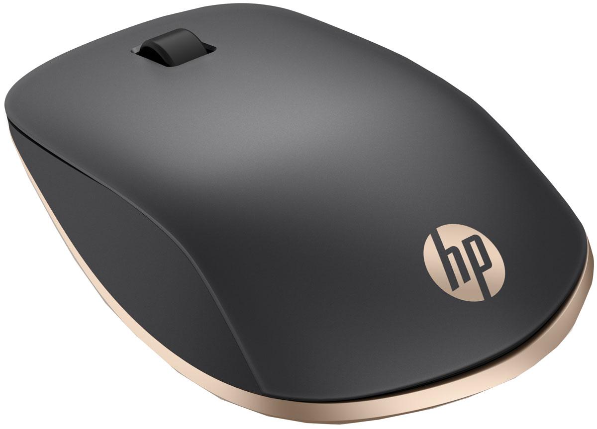 HP Z5000 Bluetooth, Black Gold мышьw2q00aaДля тонкого компьютера или планшета аксессуары тоже должны быть тонкими. Эта мышь идеально сочетает портативность и удобство. Не требуется устанавливать никакое программное обеспечение. Привычная работа с мышью — это ключевая функция продукта, если не хочется изучать применение касаний или жестов. Не хватает имеющихся USB-портов? Освободите некоторые из них с помощью подключения по Bluetooth, встроенного в Z5000. Подключение по Bluetooth осуществляется непосредственно к компьютеру, без USB-ключа.