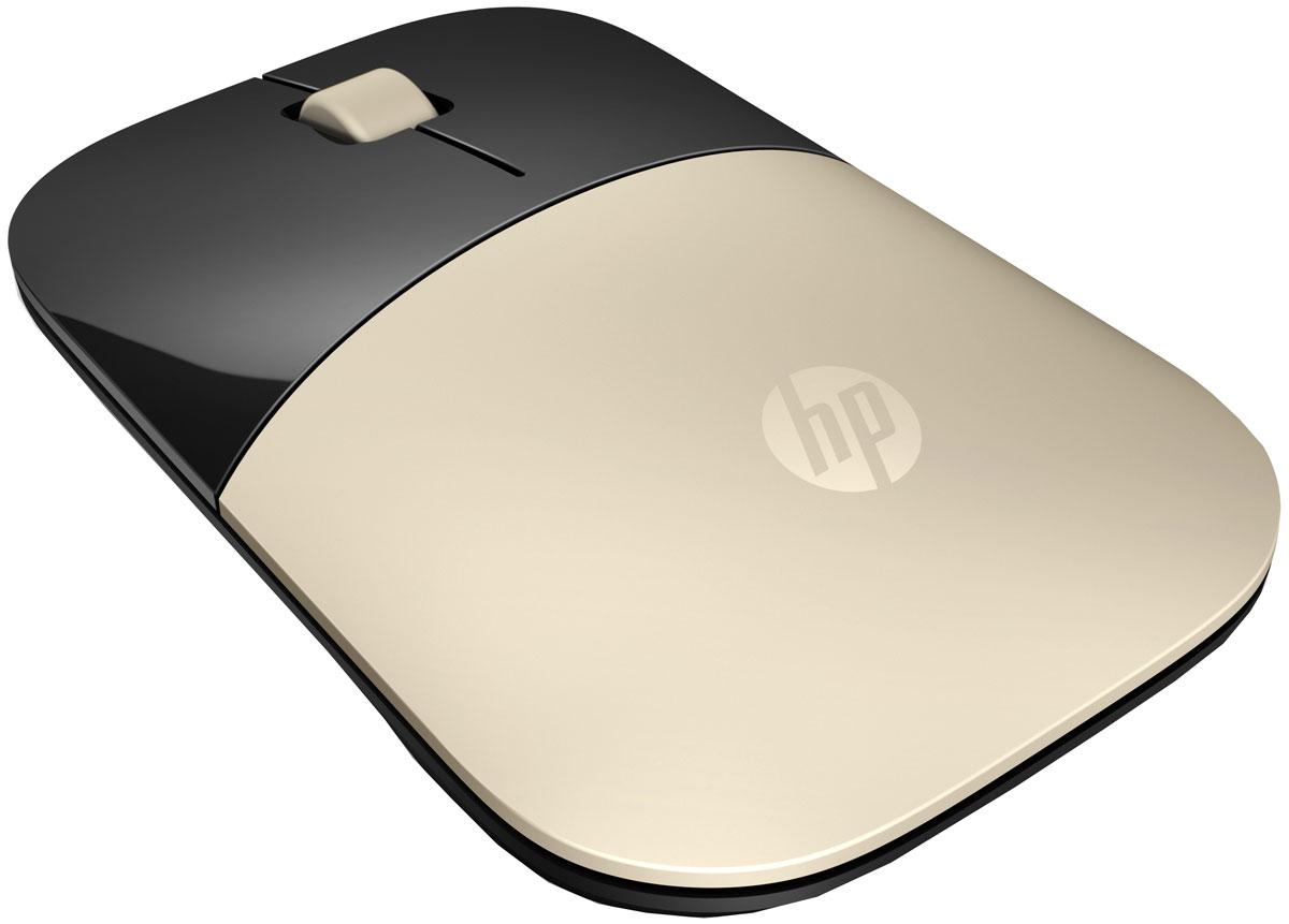 HP Z3700, Gold мышьx7q43aaВыберите устройство, которое подойдет вашему стилю. Новая беспроводная мышь отличается тонким корпусом и уникальным, детально продуманным дизайном. Она станет вашим незаменимым помощником в работе. Функциональная. Портативная. Стильная. Уникальная. Ваша.