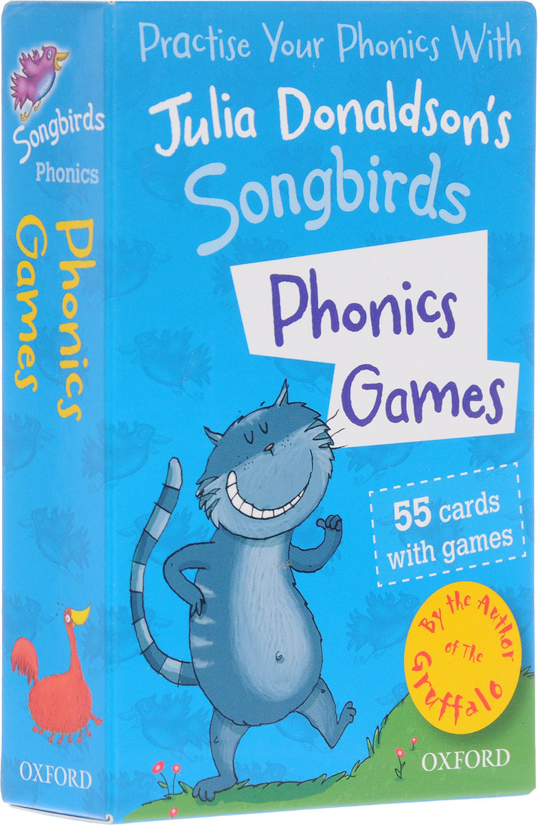 Oxford Reading Tree Songbirds: Phonics Games Flashcards oxford reading tree songbirds level 4 my cat and other stories