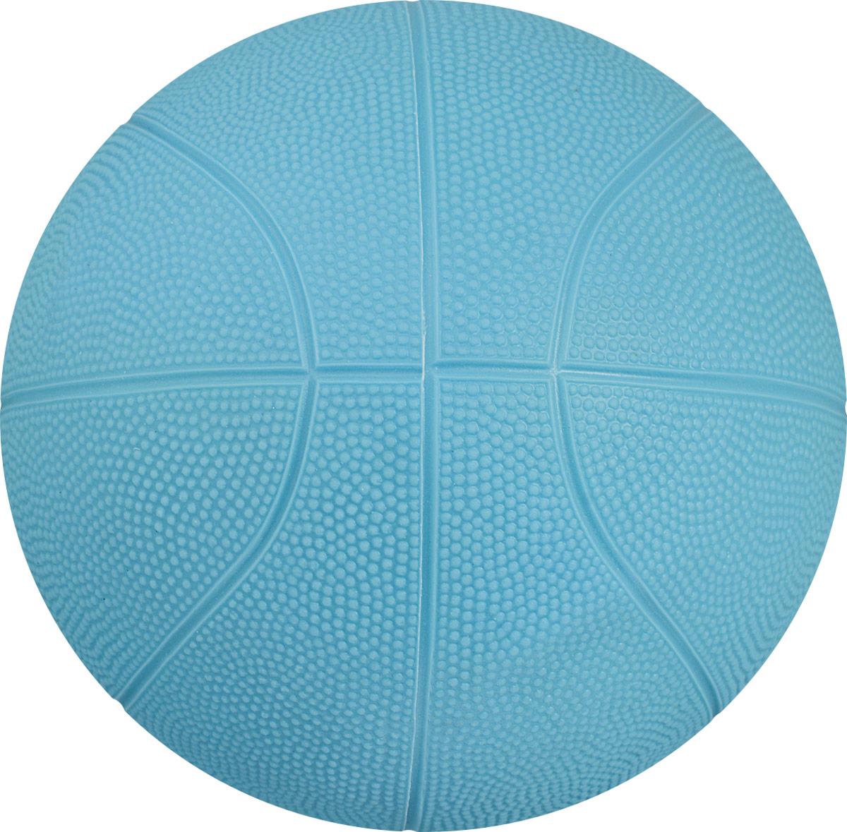 Весна Мяч детский баскетбольный цвет голубой диаметр 25,5 см