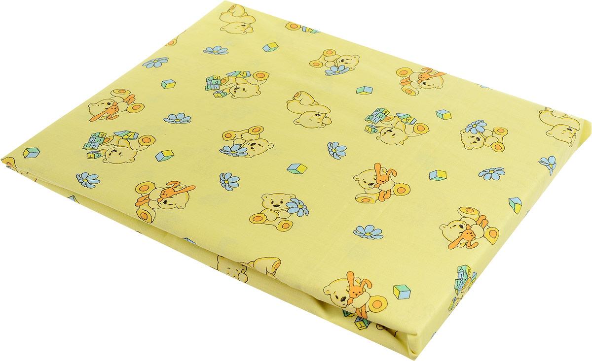 Primavelle Простыня на резинке детская цвет желтый 60 х 120 х 20 см -  Постельное белье