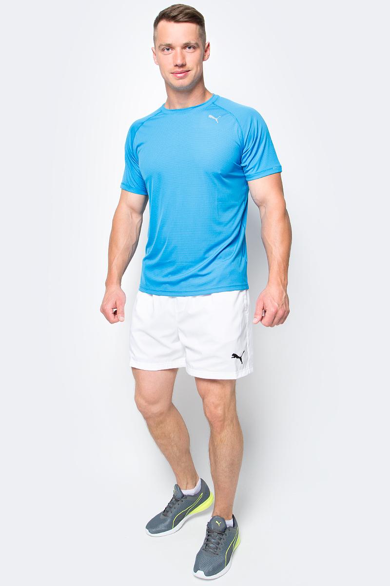 где купить Шорты мужские Puma Ess Woven Shorts 5', цвет: белый. 838271_02. Размер L (48/50) дешево