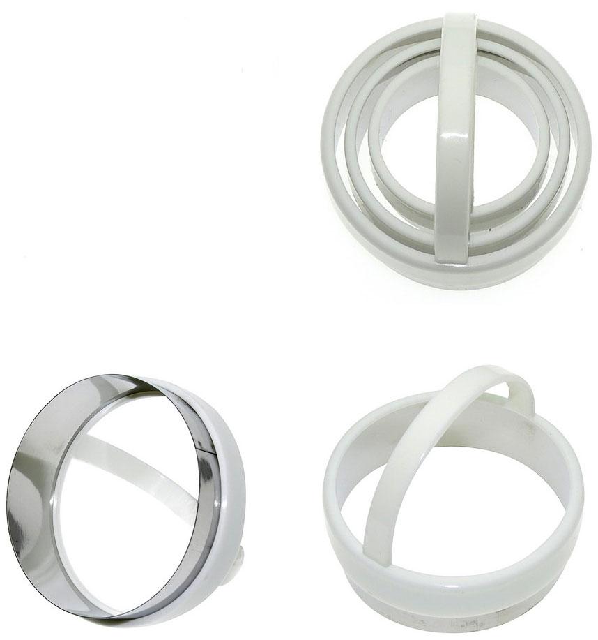 Набор форм для печенья Мультидом, 3 шт набор форм для выпечки мультидом круг 2 шт