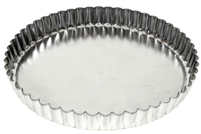 Форма для выпечки пирога Мультидом, круглая, разъемная. Диаметр 20 смDH8-55Форма для выпечки пирога Мультидом - удобное и незаменимое приспособление длялюбителей выпечки. Форма имеет съемное дно, поэтому вынимать из нее готовую выпечку оченьлегко и удобно. Необходимо лишь вставить дно в форму, залить или выложить в нее тесто ивыпекать в соответствии с вашим рецептом.Использование этой формы значительно сократит время, затрачиваемое на выпечку. После использования легко и быстро моется.Подходит для использования в духовках.Не подходит для использования в СВЧ. Можно мыть в посудомоечной машине. Изготовлено из луженой стали. Диаметр: 20 см.Высота: 2,7 см.