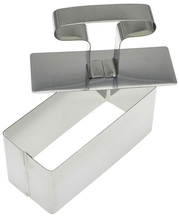 Форма для выпечки Мультидом, с крышкой-прессом, 9 х 3,5 х 4 см мультидом форма кулинарная с крышкой прессом 5х10х5 см