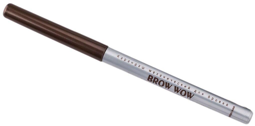 Relouis Карандаш механический для бровей Brow Wow, тон №04, 14 г4810438013130Пудровый механический карандаш для бровей Brow Wow: особая пудровая текстура не требует дополнительной растушевки, легко наносится и держится в течение всего дня, обеспечивает эффект естественных натуральных бровей, выразительных и ухоженных, обеспечивает насыщенность и однородность цвета, не нужно затачивать.