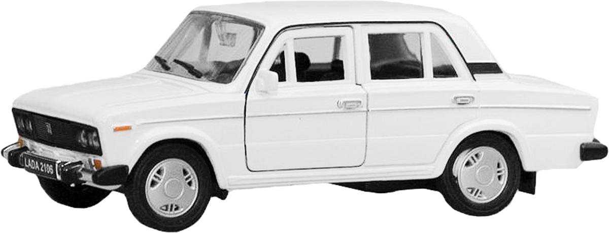 Welly Модель автомобиля LADA 2106 цвет белый авто ваз 2106 д шево и балаково