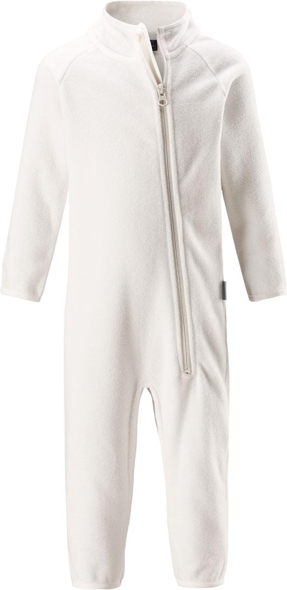 Комбинезон утепленный флисовый детский Lassie, цвет: белый. 7167000160. Размер 867167000160Флисовый детский комбинезон Lassie - превосходное дополнение к гардеробу вашего ребенка. Комбинезон изготовлен из теплого дышащего материала, который отводит влагу в верхние слои одежды. Комбинезон застегивается на длинную молнию с защитой подбородка. В таком комбинезоне ребенку будет максимально комфортно и тепло.