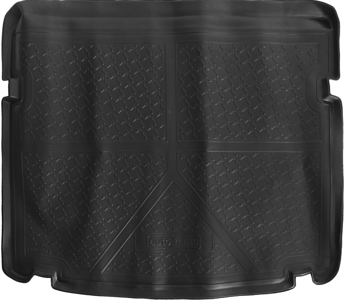 Коврик багажника Rival для Chevrolet Cruze (SD)2009-, полиуретан11003003Коврик багажника Rival позволяет надежно защитить и сохранить от грязи багажный отсек вашего автомобиля на протяжении всего срока эксплуатации, полностью повторяют геометрию багажника.- Высокий борт специальной конструкции препятствует попаданию разлившейся жидкости и грязи на внутреннюю отделку.- Произведены из первичных материалов, в результате чего отсутствует неприятный запах в салоне автомобиля.- Рисунок обеспечивает противоскользящую поверхность, благодаря которой перевозимые предметы не перекатываются в багажном отделении, а остаются на своих местах.- Высокая эластичность, можно беспрепятственно эксплуатировать при температуре от -45 °C до +45 °C.- Изготовлены из высококачественного и экологичного материала, не подверженного воздействию кислот, щелочей и нефтепродуктов. Уважаемые клиенты!Обращаем ваше внимание,что коврик имеет формусоответствующую модели данного автомобиля. Фото служит для визуального восприятия товара.