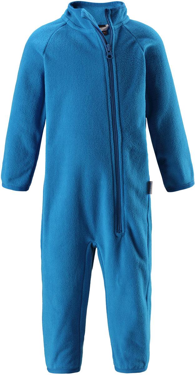 Комбинезон утепленный флисовый детский Lassie, цвет: синий. 7167006520. Размер 867167006520Флисовый детский комбинезон Lassie - превосходное дополнение к гардеробу вашего ребенка. Комбинезон изготовлен из теплого дышащего материала, который отводит влагу в верхние слои одежды. Комбинезон застегивается на длинную молнию с защитой подбородка. В таком комбинезоне ребенку будет максимально комфортно и тепло.