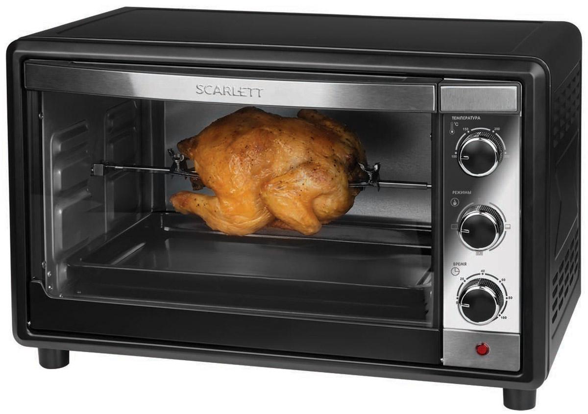Scarlett SC-EO93O17, Black мини-печь - Мини-печи