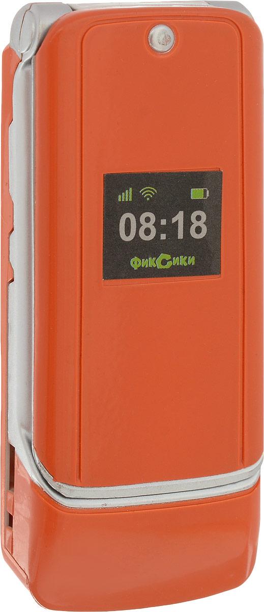 Фиксики Игрушечный мобильный телефон цвет оранжевый