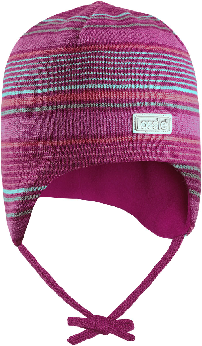Шапка для девочки Lassie, цвет: розовый. 7187274801. Размер 42/447187274801Комфортная детская шапка Lassie идеально подойдет для прогулок в холодное время года, защищая ушки ребенка от ветра.Шапочка выполнена из полиакрила и шерсти. Уважаемые клиенты!Размер, доступный для заказа, является обхватом головы.