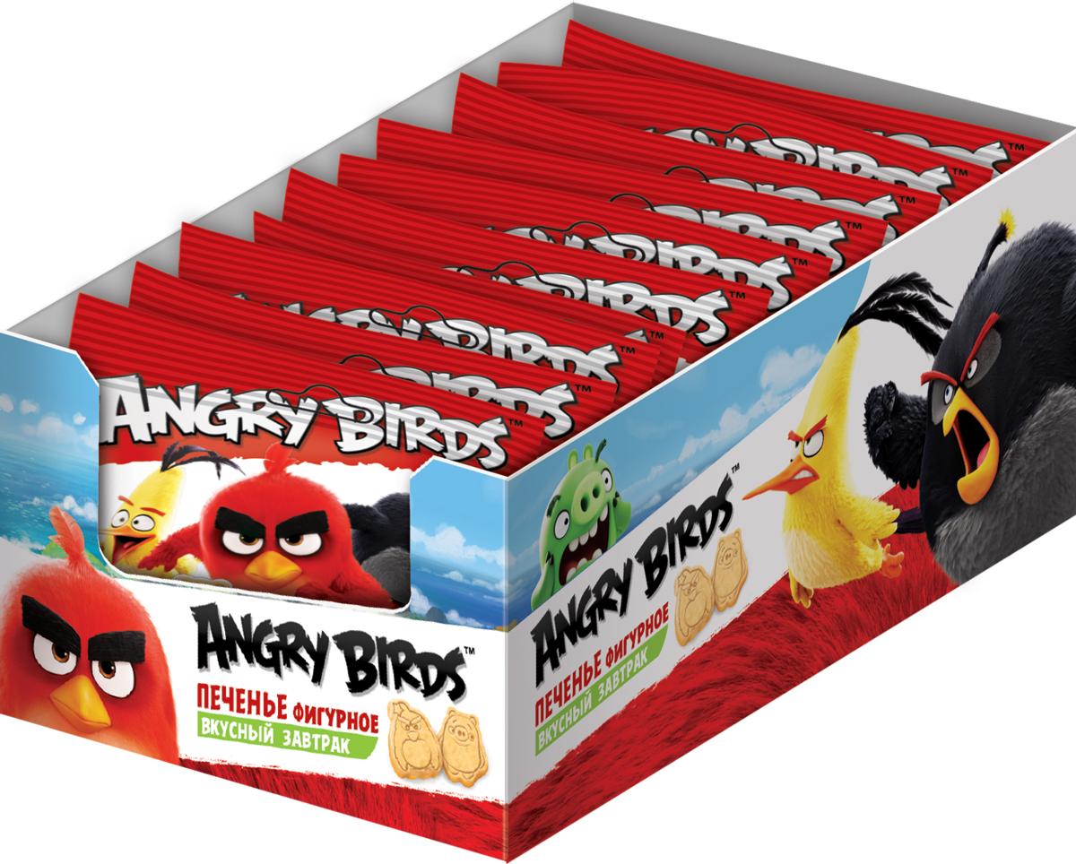 Angry Birds Movie печенье ванильное фигурное, 12 шт по 25 г