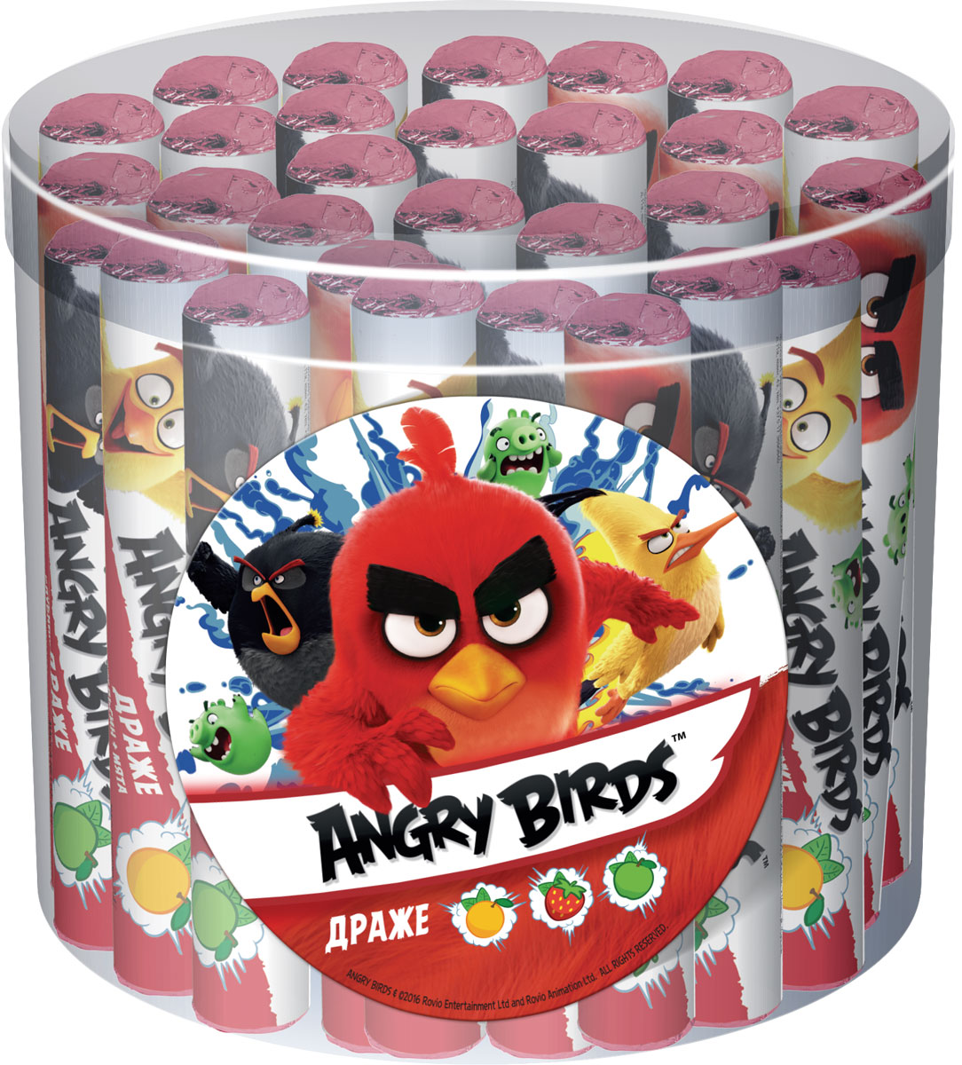 Angry Birds Movie драже освежающее, 24 шт по 24 г