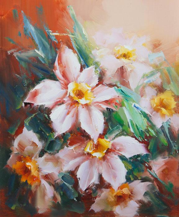 Картина Нарциссы. Холст, масло. 60х50 см cisa12011 60 50 в москве