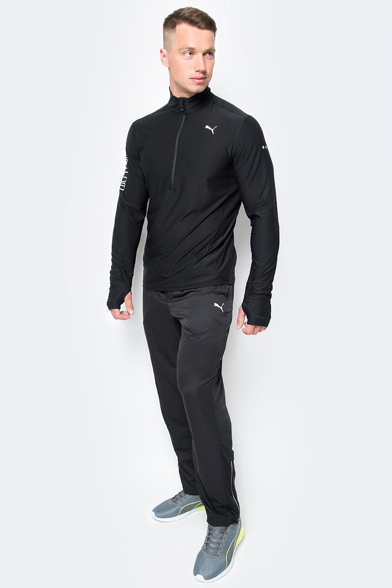 Брюки спортивные мужские Puma Core-Run Pant, цвет: черный. 51501901. Размер XL (50/52)51501901Мужские спортивные брюки Core-Run Pant изготовлены из полиэстера с использованием высокофункциональной технологии dryCELL, которая отводит влагу, поддерживает тело сухим и гарантирует комфорт во время активных тренировок и занятий спортом. Расположенные в местах повышенного тепловыделения сетчатые вставки улучшают циркуляцию воздуха. Логотип и другие декоративные элементы из светоотражающего материала позаботятся о вашей безопасности в темное время суток. Застежки-молнии на шлицах по низу штанин позволяют легко снимать и надевать брюки. Для хранения мелочей предназначены два боковых кармана.