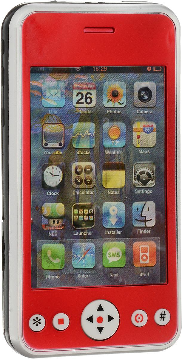S+S Toys Электронная игрушка Смартфон цвет красный копилка электронная банкомат цвет красный