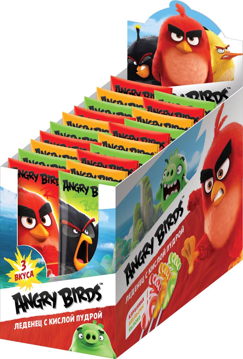 Angry Birds Movie карамель леденцовая с кислой пудрой, 48 шт по 10 г