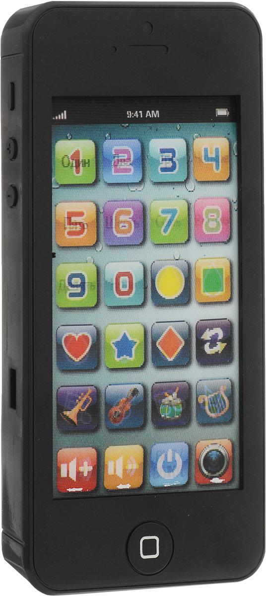 TopToys Игрушечный мобильный телефон цвет черный