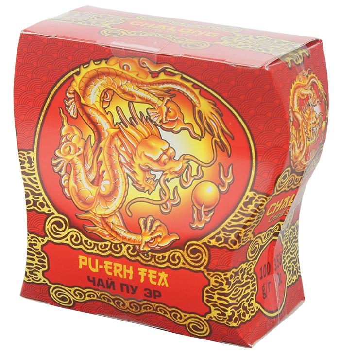 Dolche Vita Сhalong Пу-эр чай листовой, 100 г225346Китайский черный чай, Пу-Эр.