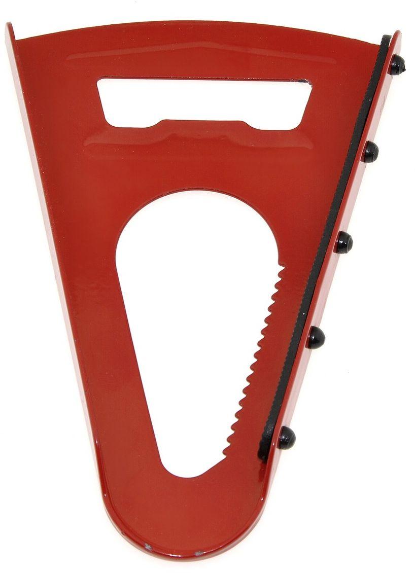 Открывалка для банок Мультидом Эконом. MS13-31MS13-31Мультидом Эконом удобный и стильный кухонный аксессуар, который позволяет легко открывать банки с закручивающимися крышками. Резиновая прокладка обеспечивает надежное удерживание при открывании.Изготовлено из металла с эмалевым покрытием, прокладка из резины.