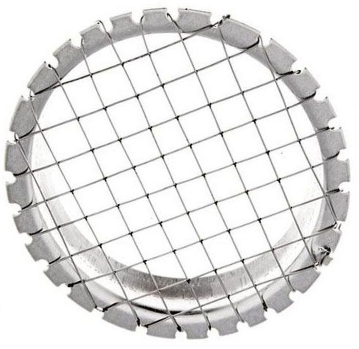 Овощерезка Мультидом Винегрет, 6 ммAN53-34Овощерезка Мультидом Винегрет предназначена для нарезки вареных овощей кусочками правильной геометрической формы. Изготовлено: струны из коррозионностойкой (нержавеющей) стали. Диаметр 9 см, размер ячейки 6 х 6 мм.После использования промыть мягкой щеткой или губкой, можно с использование жидких моющих средств.