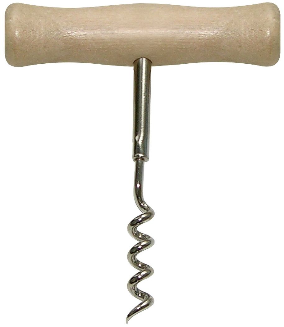 Штопор Мультидом РетроAN57-2Штопор Мультидом Ретро используется для открывания бутылок с пробками. Изделиекомпактно и не займет много места в столе или в багаже во время поездки. После использованиявымыть с использованием жидких моющих средств. Изготовлено: рабочая часть из металла схромированным покрытием, ручка из дерева.