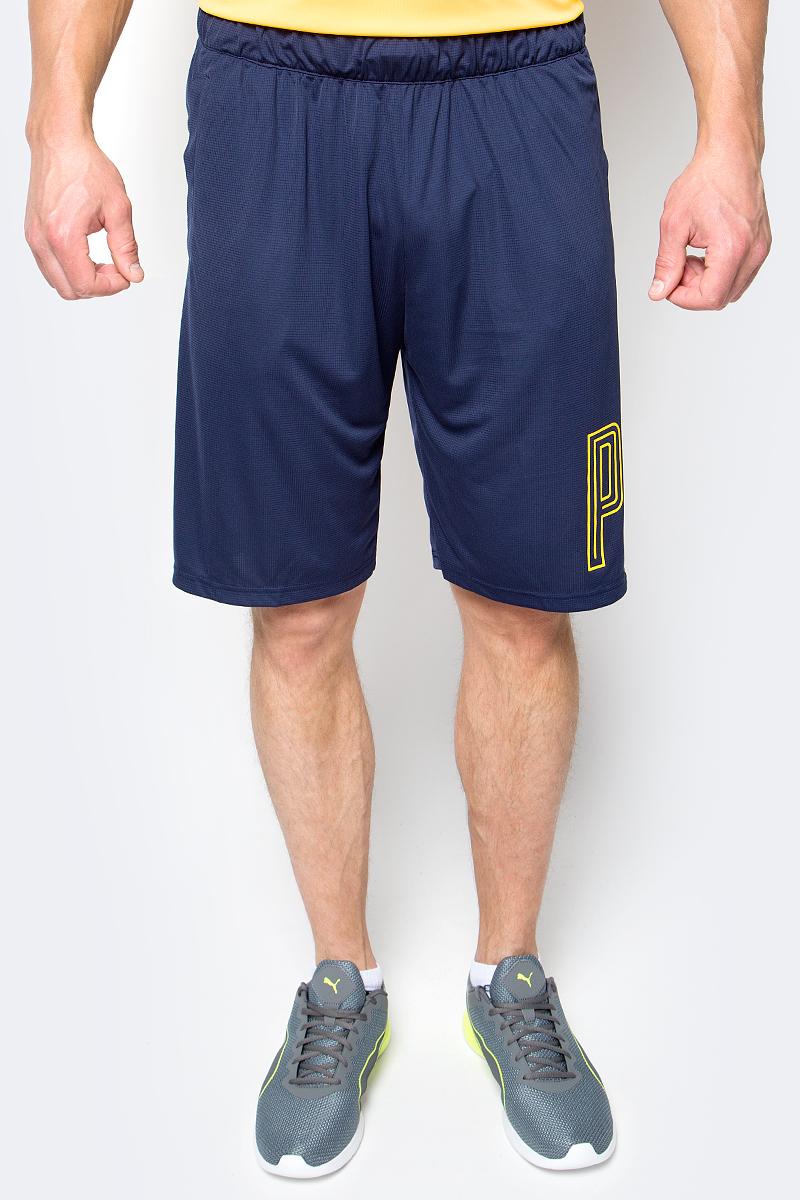 Шорты мужские Puma Motion Flex 10' Grphc Short, цвет: темно-синий. 51517405. Размер L (48/50) шорты спортивные puma puma pu053emiye01