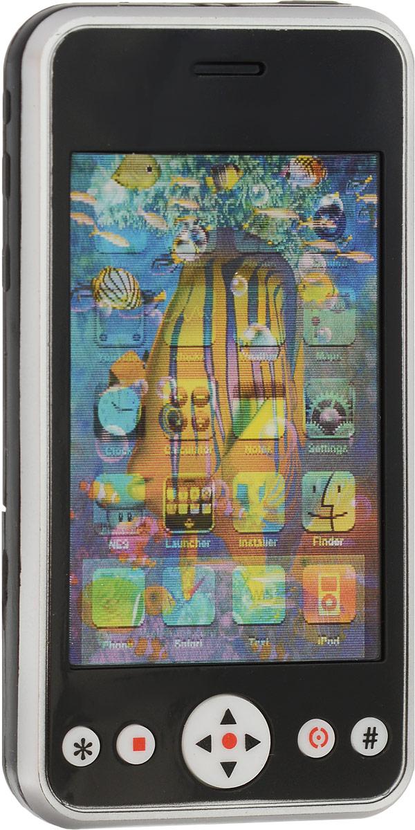 S+S Toys Электронная игрушка Смартфон цвет черный игровые телефоны s s смартфон