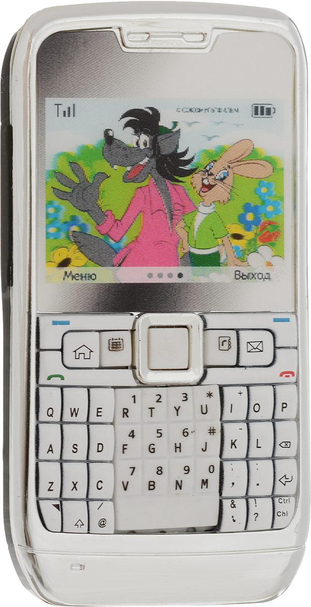Союзмультфильм Игрушечный мобильный телефон Ну, погоди! цвет серебристый наклейка на телефон mbd zr50 3m 3d
