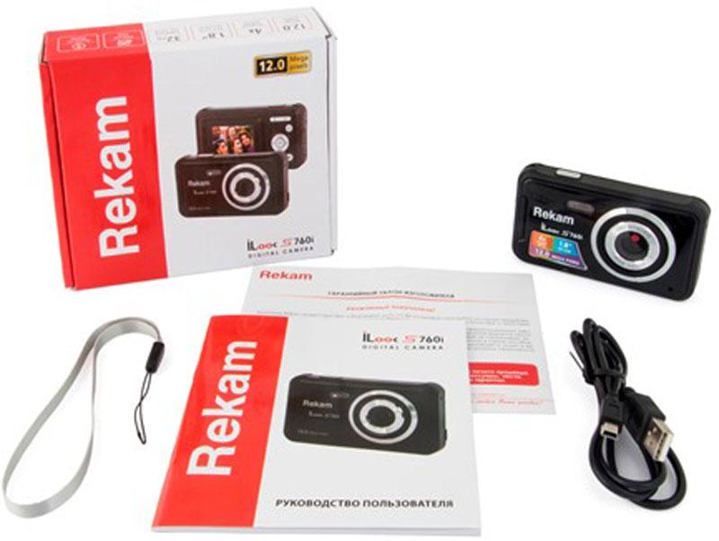 Rekam iLook S760i, Blackцифровая фотокамера