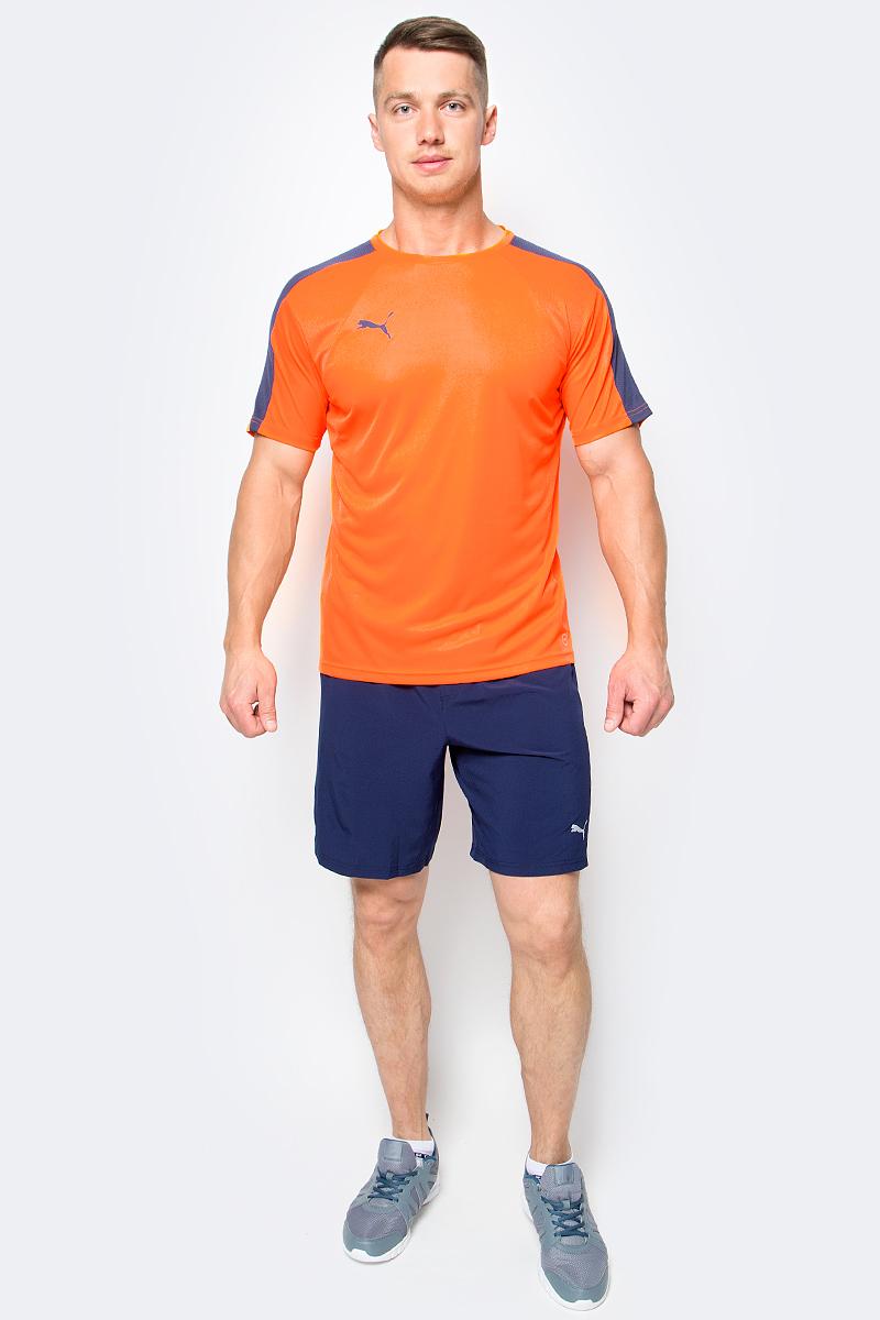 Футболка мужская Puma IT evoTRG Training Tee, цвет: оранжевый. 65517559. Размер XXL (52/54) брюки puma брюки it evotrg pant