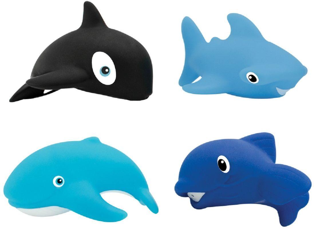 Lubby Набор игрушек для ванной Морской мир 4 шт морепродукты рыба