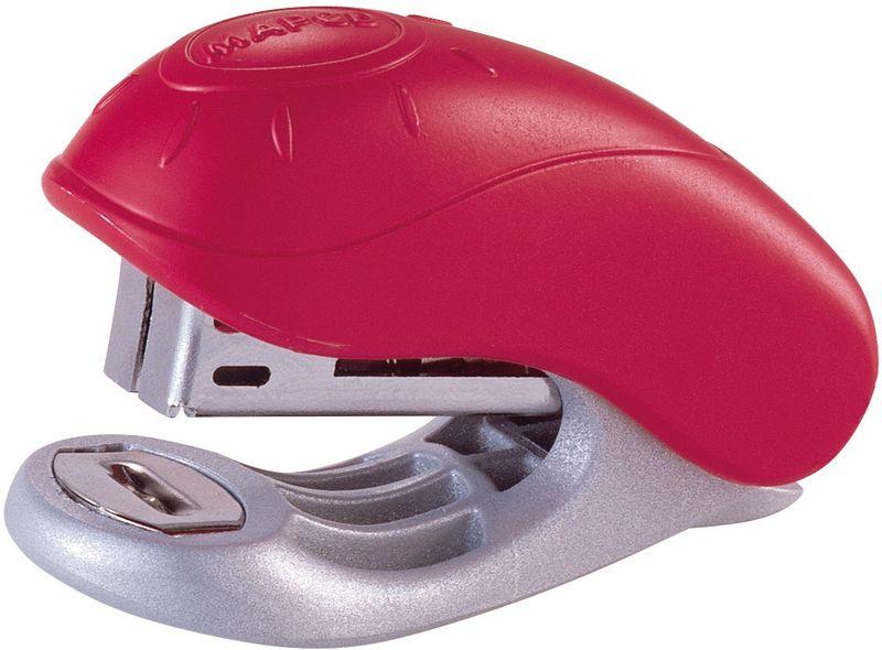 Maped Степлер №10 цвет розовый540300Степлер Maped - незаменимый офисный инструмент.Изделие выполнено из пластика с металлическим механизмом. Степлер рассчитан на скрепление 15 листов скобами №10.Степлер со встроенным антистеплером гарантирует стабильную и качественную работу в течение долгого времени.