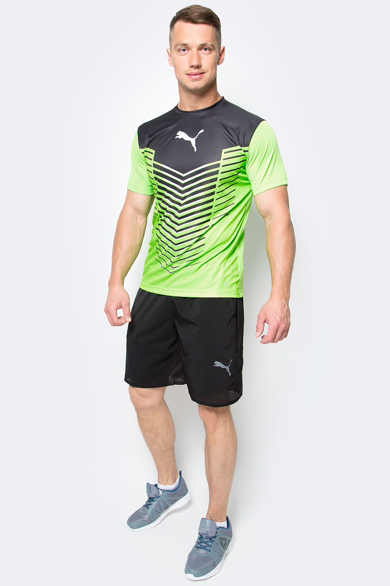 Шорты для бега мужские Puma Vent Stretch Woven Short, цвет: черный. 51516701. Размер XL (50/52) power supply for tdps 1760ab b 1755w well tested working
